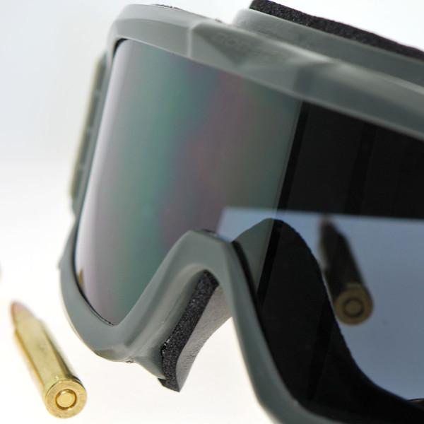 Green Alpha ballistic goggles