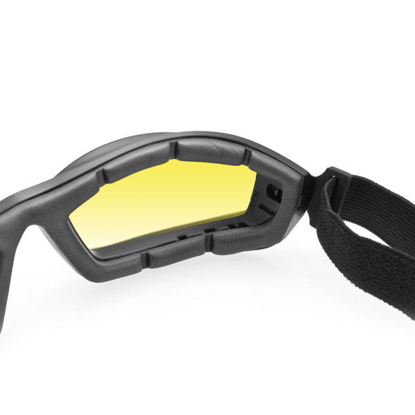 Bala yellow lens Z87 goggles