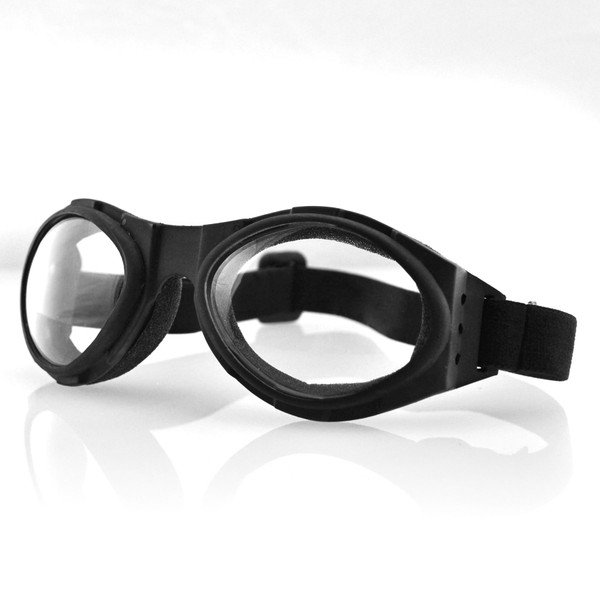 Bugeye clear lens goggles