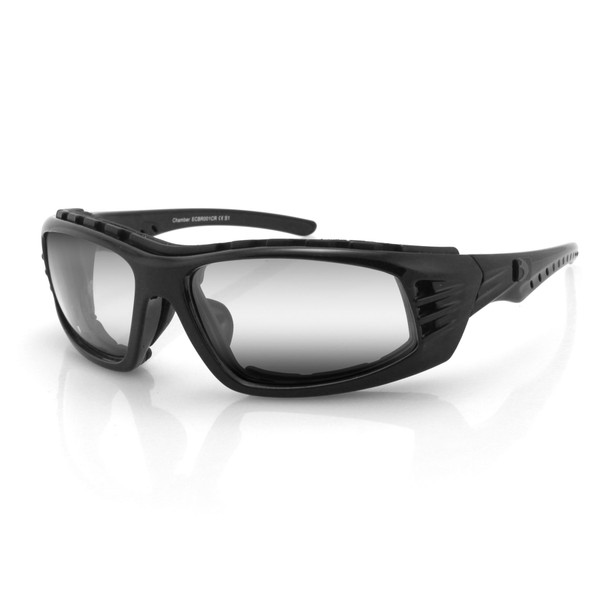 Chamber clear lens sunglasses