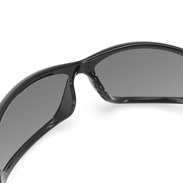 Charger smoke lens sunglasses
