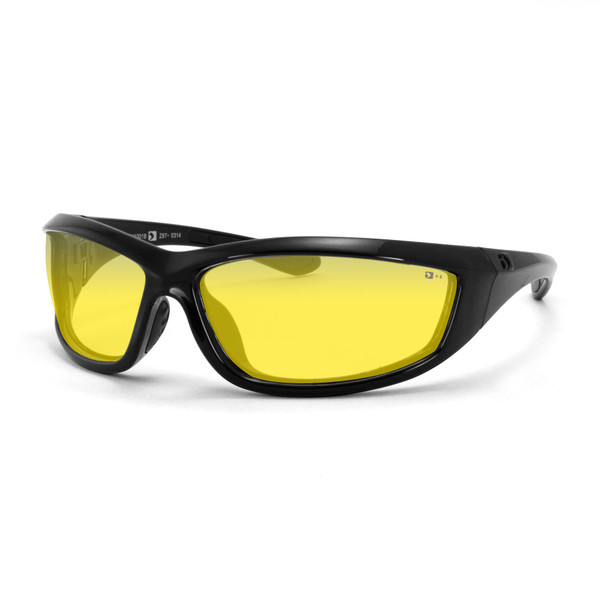Charger yellow lens sunglasses