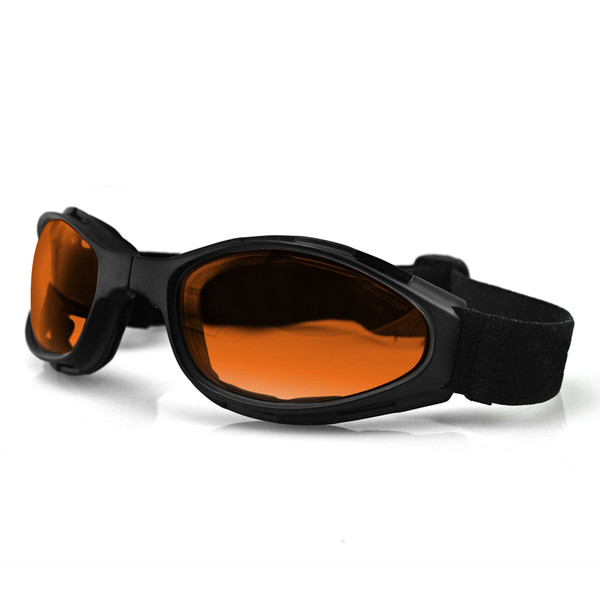 Crossfire amber lens goggles