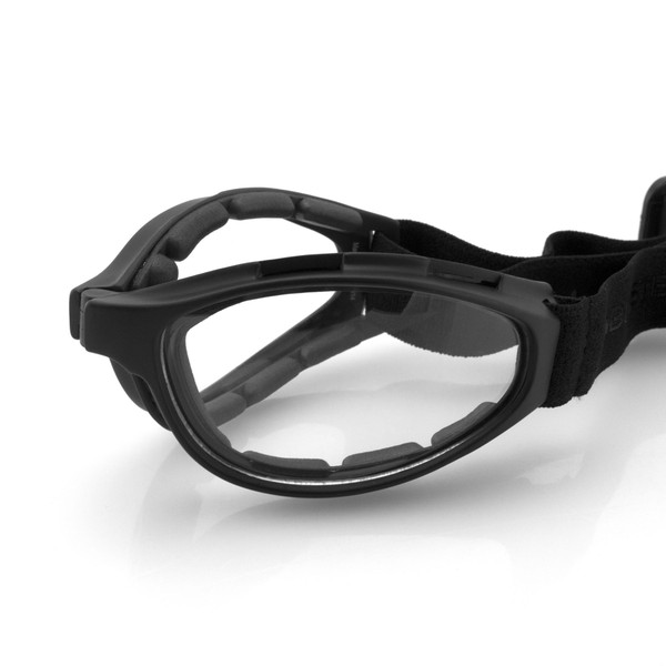 Crossfire clear lens goggles