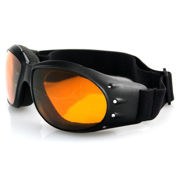 Cruiser amber lens goggles