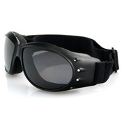 Cruiser smoke mirror lens goggles