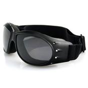 Cruiser smoke mirror lens goggles