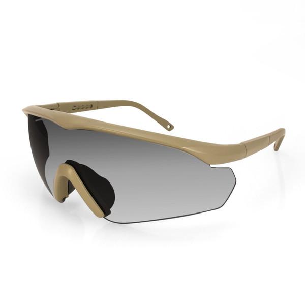 Tan Delta ballistics sunglasses