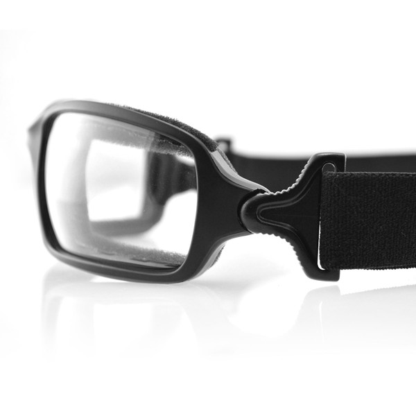 Fuel clear photochromic goggles