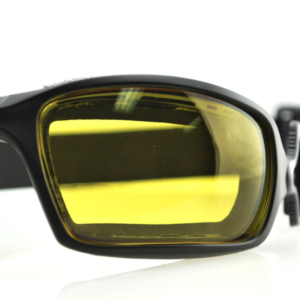 Fuel yellow photochromic goggles