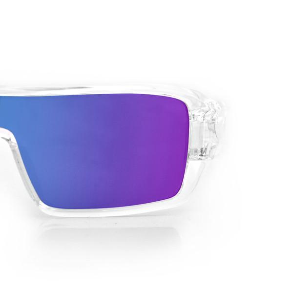 Paragon smoke cyan lens sunglasses