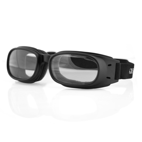 Piston clear lens goggles