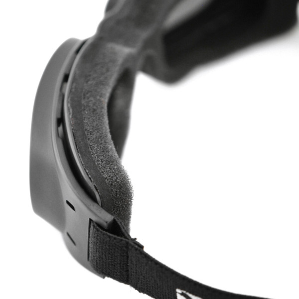 Piston smoke mirror lens goggles
