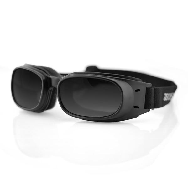 Piston smoke lens goggles