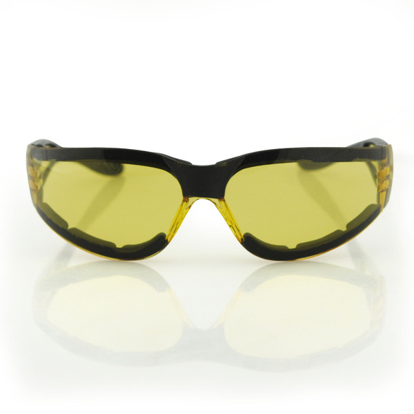 Shield II yellow lens sunglasses