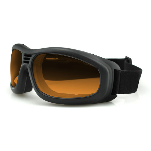 Touring II amber lens goggles