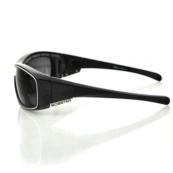 Black Zoe smoke lens convertibles